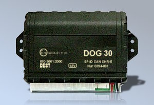 Centralka autoalarmu DOG 30 CAN