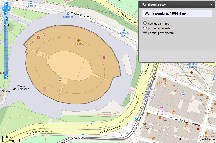 Koloseum na mapie